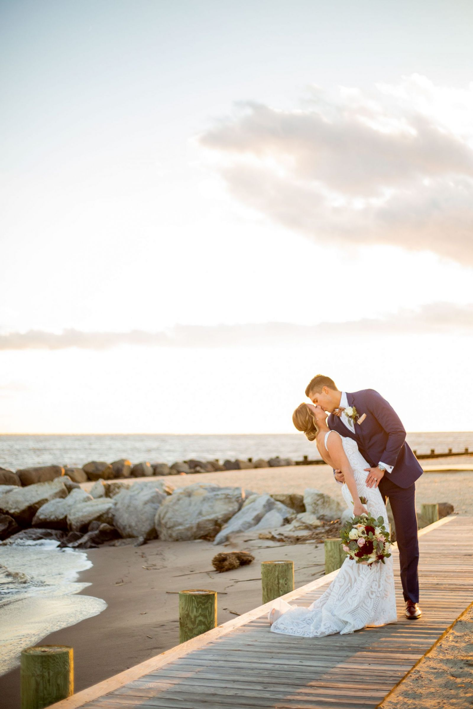 Beach Photo by Jacksonville Wedding Photographer