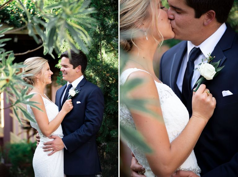st augustine wedding venue portraits of bride and groom